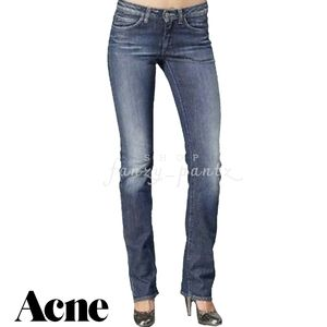 ACNE STUDIOS Hex Silver jeans 26 x 34